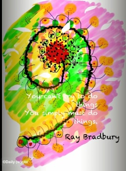 Ray Bradbury via Daily write