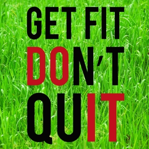 Gonna Get Fit Just Can't Quit - Memee's Musings