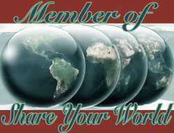 Share Your World banner