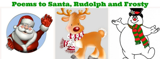Poems to Santa, Rudolph and Frosty