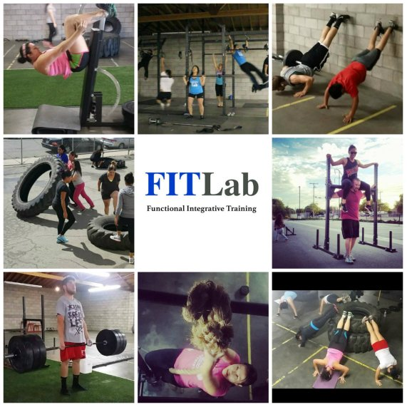 Fit Lab collage