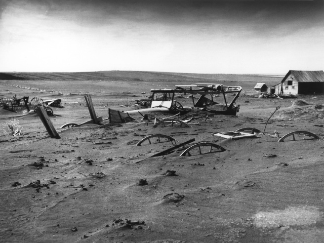 1936 South Dakota dust bowl