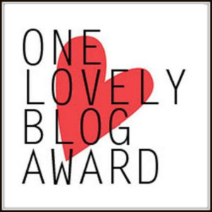 one lovely blog-award