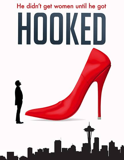 Autism + Human Trafficking = Hooked poster